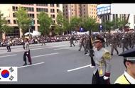 韩国阅兵,这么乱的阅兵仪式,看着尴尬症都犯了