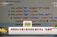 """韩国教育机构出现25年最大高考泄密,数百个考生""""钻漏洞"""""""