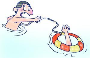 海水吞没南京姑娘 男子救人后默默走开