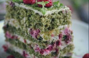 冬天里的一抹茶,这款蛋糕你值得一尝