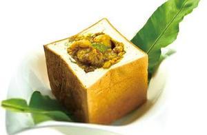 东南亚特色美食---咖喱面包鸡(皇帝面包鸡)
