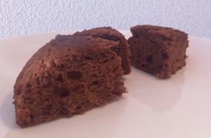 ★超简单★美味★2分钟★不用巧克力的微波炉巧克力蛋糕