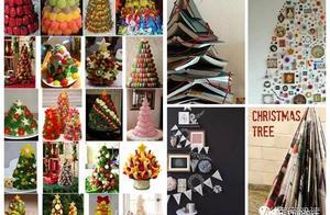 圣诞节怎么能少了圣诞树!