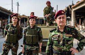战争让女人走不开,走上战场的伊拉克女人