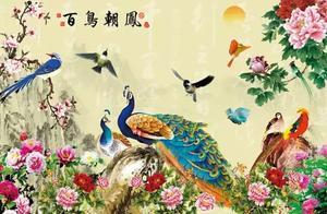 收集到最美的《百鸟朝凤》图,送给大家
