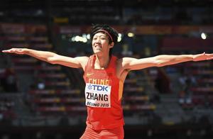 全国田径大奖赛第三站,张国伟赢得男子跳高冠军