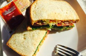 减脂餐-自制三明治