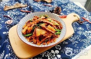 【食在金秋】回锅肉炒笋干