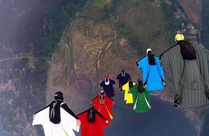不是所有人都敢尝试跳伞的,胆小的看看就好了