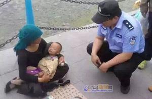 求证:网传栈桥有人拐卖儿童 经查双方为母女