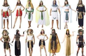 各国传统服饰集锦,埃及的有特色,不过我眼里只有汉服,太美了