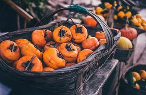 柿子,是大自然回馈的温暖甜味