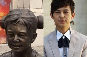 雕塑撞脸何炅,街区神回应,白敬亭评论是几个意思,撞脸王?