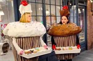 现在流行的,粗狂的裱花杯子蛋糕,美翻了~
