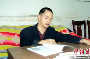 残疾男子10年创作诗文978篇 坚持写作不向命运低头