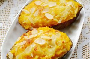 焗红薯、炸地瓜条,这么好吃的做法你吃过吗?