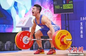 全国男子举重锦标赛:田涛夺冠 石智勇破世界纪录