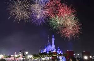 迪士尼城堡下的焰火秀,有多美你造吗?