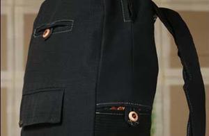 巧手妈妈教你把款式过时闲置服饰几分钟改造成漂亮双肩包
