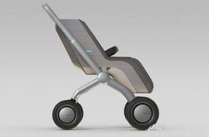 """机动智能婴儿车诞生 宝贝再也不会成为运动的""""障碍"""""""