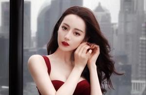 迪丽热巴最新造型!红色皮裙勾勒完美身线,神颜红唇魅力无限