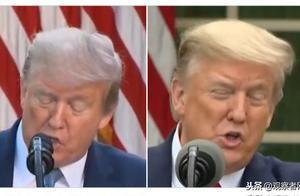 """""""金毛""""变""""银发""""  特朗普日理万机头发都白了?"""