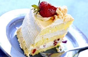 网红雪媚娘甜品,美食牛奶草莓小方,高颜值甜点食谱,简单小吃