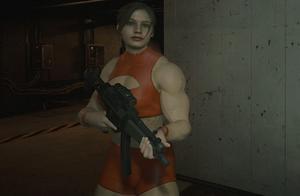 """《生化危机2重制版》克莱尔""""肌肉人""""模改来了"""
