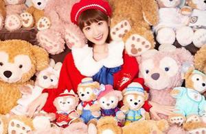 毛晓彤营业童话照,迪士尼公主身陷小熊之家,网友:老夫的少女心