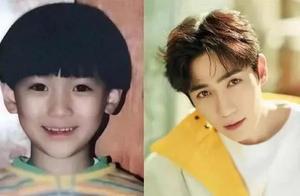 明星童年照:王一博奶膘太可爱,热巴从小美到大,沈腾从小就搞笑