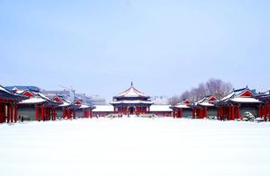 故宫初雪|红墙白雪,仿佛每一帧都在重演《步步惊心》