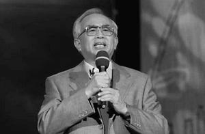 享年86岁!著名播音主持人关山因病去世,去年上台朗诵状态好