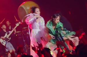 福禄寿妹妹和大波浪往前走,千年等一回的乐夏乐队合作赛