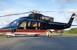 特朗普兜售私人直升机希望买方报价,已涂掉机身上自己名字