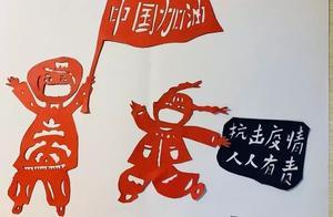居家不闲,松江这所学校的师生们用巧手传递抗疫力量