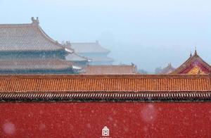 故宫初雪2020年