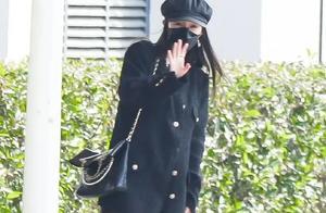 杨幂出街奢侈品穿全身,五万的外套四万的包,无惧跟关晓彤撞衫