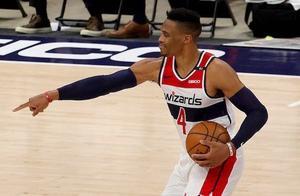 0胜4负!威少连砍三双破NBA纪录,奇才一胜难求联盟垫底