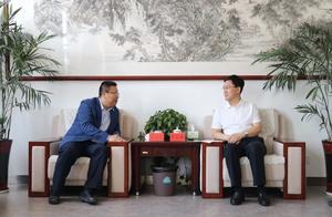 盐湖区薛永琦会见绿地集团西北区域管理总部安宝峰一行