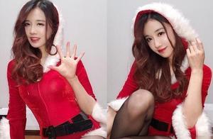 主播圣诞Cos大比拼,腐团儿当之无愧排第一,张琪格只能拿来凑数