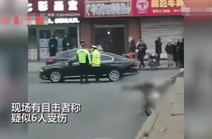 辽宁开原一男子当街持刀伤人,致7死7伤,一民警抓捕时受伤