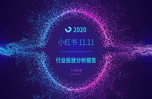 2020年小红书双十一行业投放报告