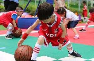 """大写的服!成都这所幼儿园的小朋友把篮球""""玩出了花"""""""