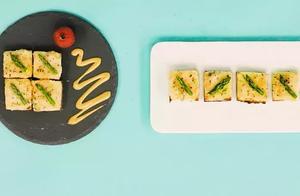 吐司和虾仁也能吃出高级感。小小一块包含大大的营养