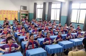 """湖南一小学学生课间""""跳""""律动操走红 老师:想让学生学会快乐、学会幸福"""