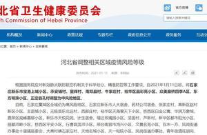 河北卫健委:新增9地为中风险地区