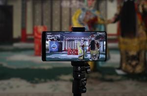 高新科技遇到传统艺术,华为Mate40系列暗光拍摄《三岔口》