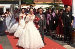 移风易俗!襄垣4对新人举行集体婚礼
