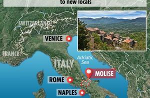 意大利南部小镇为了增加人口拼了:每月向居民无偿发放5000人民币
