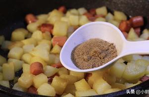街边小吃孜然土豆,原来做法这么简单,麻辣鲜香,比吃肉都过瘾